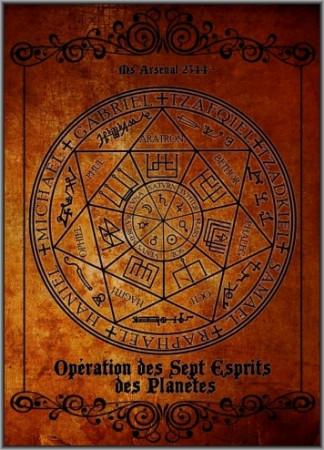 Opération des Sept Esprits des Planètes (Ms Arsenal 2344)