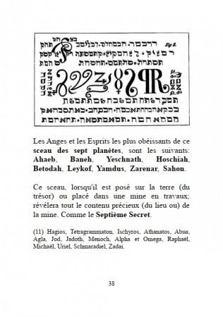 Le Sixième et Septième Livre de Moïse et autres Textes Magiques