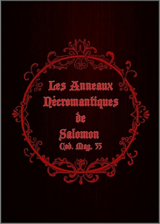 [04] - Les Anneaux Nécromantiques de Salomon