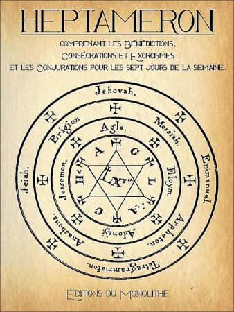 Heptameron ou Les Éléments Magiques.