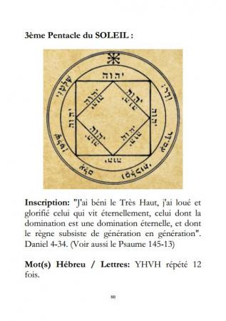 [18] - Les 44 Pentacles de la Grande Clef de Salomon.