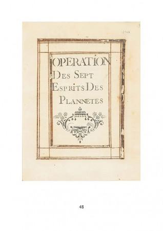 [16] - Operation des Sept Esprits des Planetes (Ms Arsenal 2344)