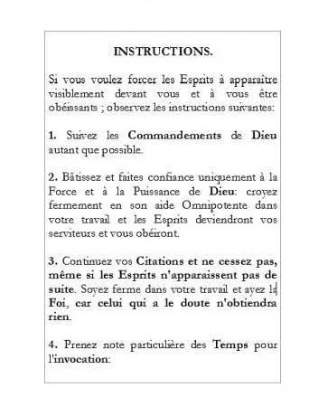 [13] - Le Sixième et Septième Livre de Moïse..