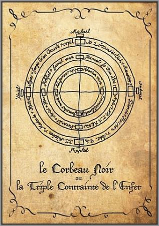 [02] - Le Corbeau Noir ou La Triple Contrainte de l'Enfer.