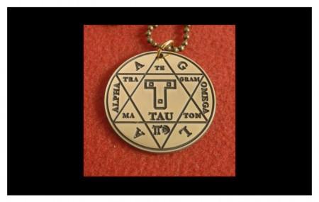[06] Pendentif Hexagramme de Salomon - 2