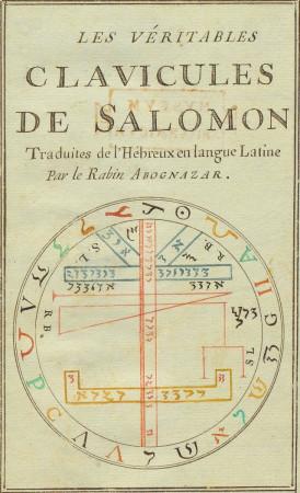 Les Véritables Clavicules de Salomon (Abognazar)