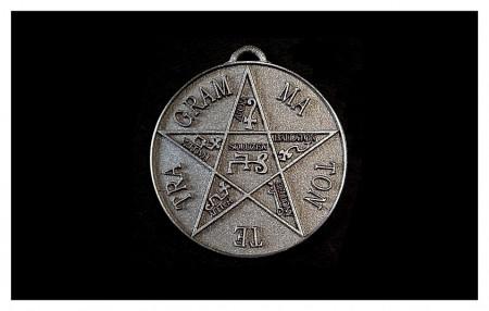 [02] Pentagramme de Salomon (ARGENT)