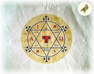 [x] Étoffe Hexagramme de Salomon