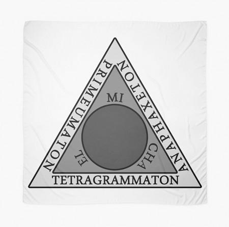 [x] Tenture - Triangle Goétie