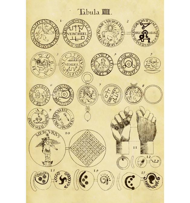 De Amuletis Aeneis Figuris Illustrata