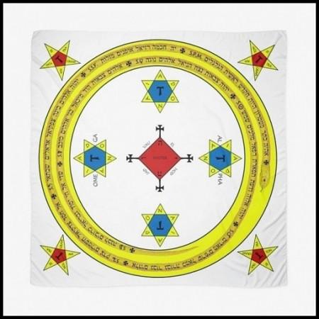 [X] Tenture Cercle Goétique