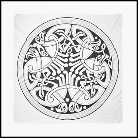 [X] Tenture Nœud des Corbeaux