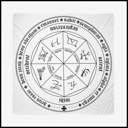 [X] Tenture Cercle Médieval 1