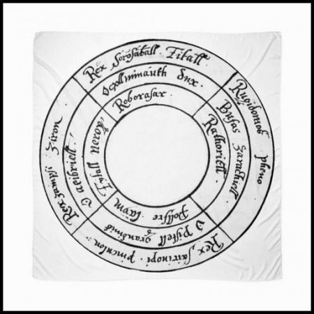 [X] Tenture Cercle selon Sloane 3850