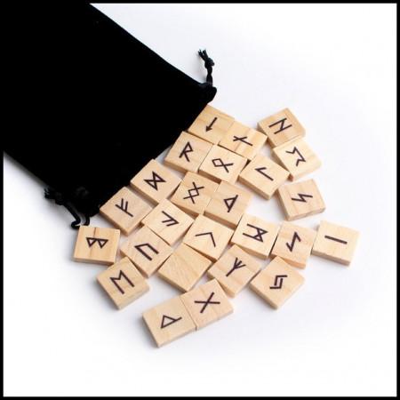 [x] Jeu de Runes Bois