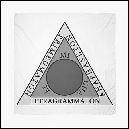[X] Tenture Triangle Goétique - 2