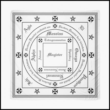 [X] Tenture Cercle selon F. Hockley