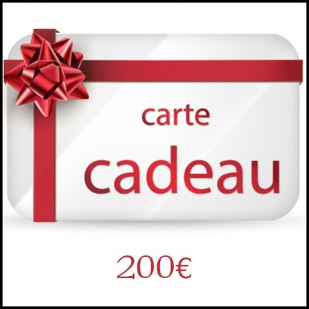 [x] E - Carte Cadeau 200€
