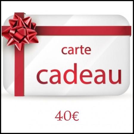 [x] A - Carte Cadeau 40€