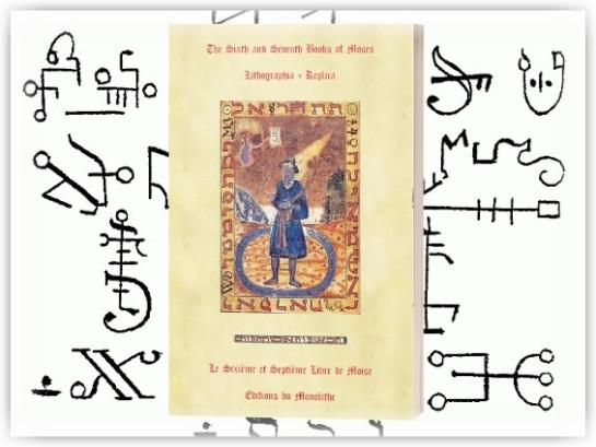 Le Sixième et Septième Livre de Moîse (Lithographie)