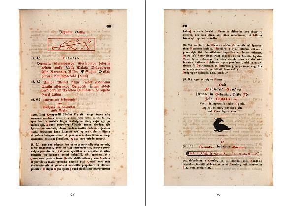 Almuchabosa Absegalim Alkakib Albaon id est Compendium Magiае Innaturalis Nigrae Continens Citationes & Sigilla Diversorum Spirituum
