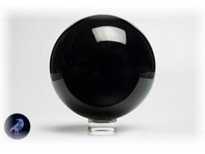 [x] Boule Cristal d'Obsidienne 10cm