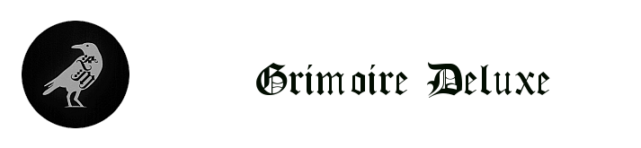 COLLECTION GRIMOIRE DELUXE