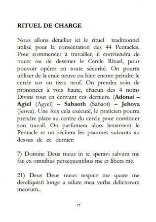 [A PARAÎTRE] Les 44 Pentacles de la Grande Clef de Salomon