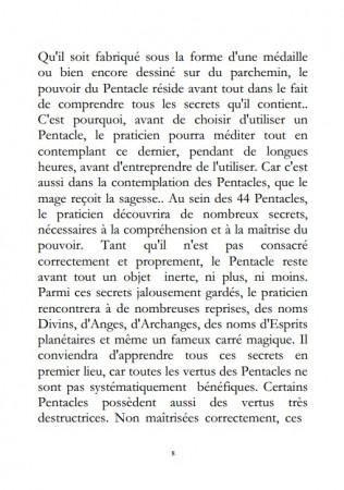 Secrets Cabalistiques - Les 44 Pentacles de la Grande Clef de Salomon.
