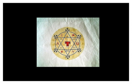 [09] Etoffe Hexagramme de Salomon