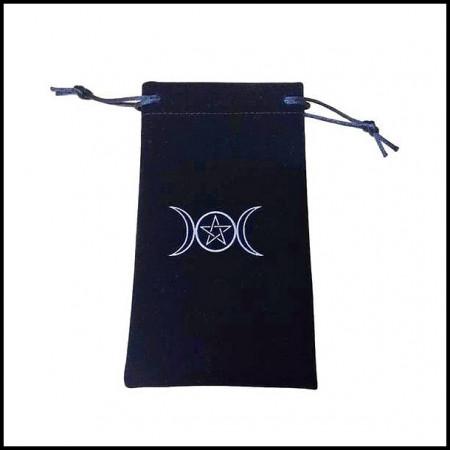 [x] Bourse Pentagramme Velours