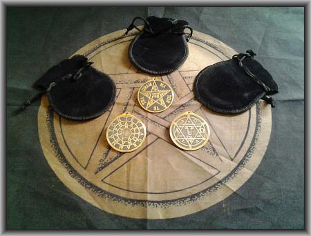 [21] Goetia Practica: 3 Talismans