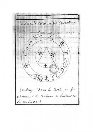 Grimoire pour Conjurer l'Esprit d'un Lieu (Ms Arsenal 2494)