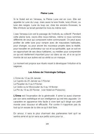 Sagesse & Almanach Païen.