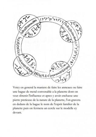 [06] - Traite sur l'Art de Faire les Talismans des Planètes