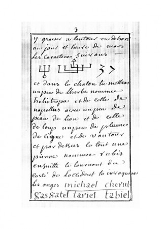 Traité sur l'Art de Faire les Talismans des Planètes (Ms Arsenal 2345)