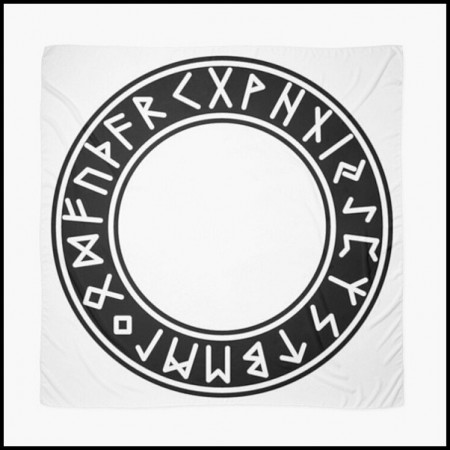 [X] Tenture Cercle Futhark 2