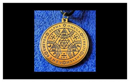 [26] Pendentif - Tetragrammaton
